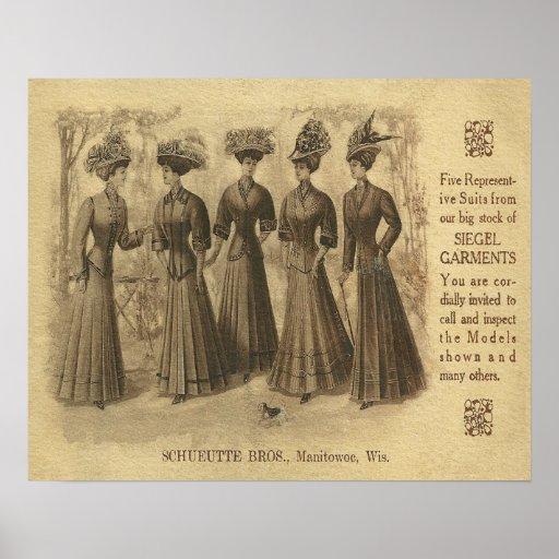 Vintage Fashion Ad 43