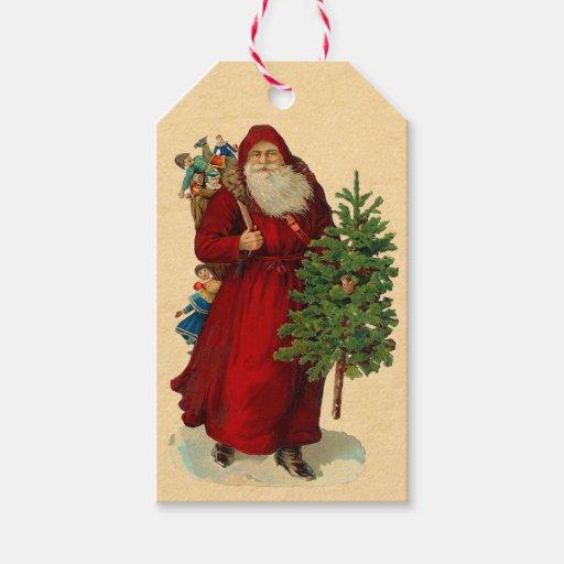 Any dialogue vintage santa claus hang tags