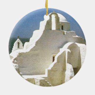 Vintage Greece, Myconos, Greek Orthodox Church Double ...