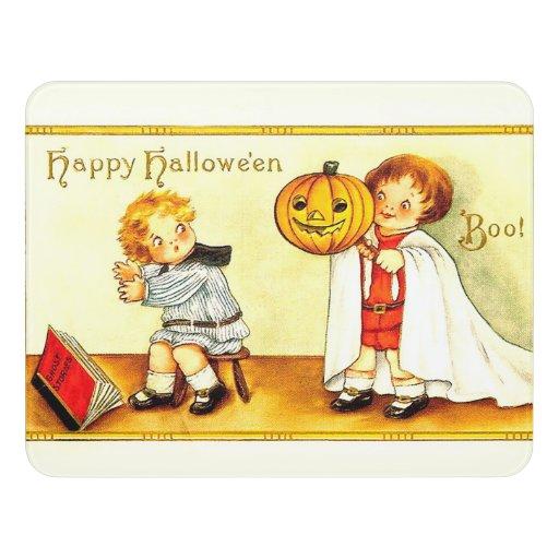 Vintage Happy Halloween Door Sign | Zazzle