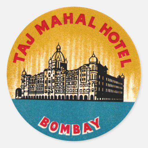 Vintage Hotel Stickers 66