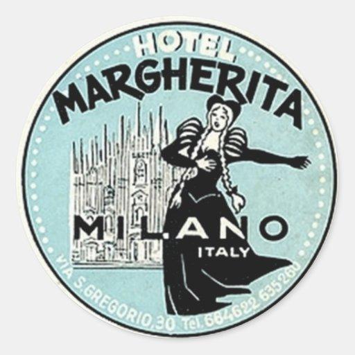 Vintage Hotel Stickers 16