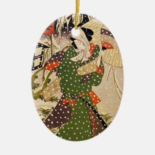 Vintage Japanese Christmas Ornament | Zazzle