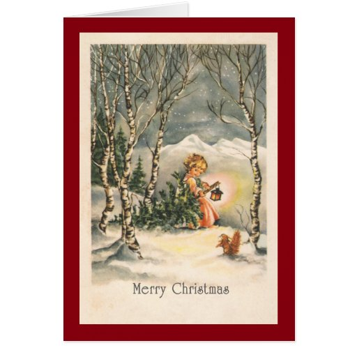 Custom Merry Christmas Greeting Cards