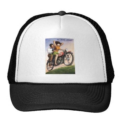 Vintage Motorcycle Hat 94