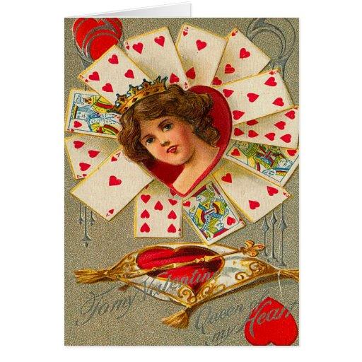 Vintage Queen Of Hearts 87