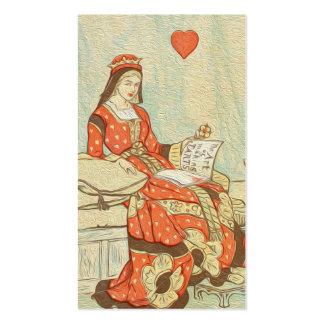 Vintage Queen Of Hearts 114
