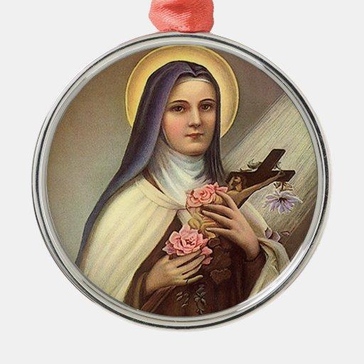 Vintage Religious Christmas Ornament: Vintage Religious Easter, Nun Cross Christ Roses Christmas