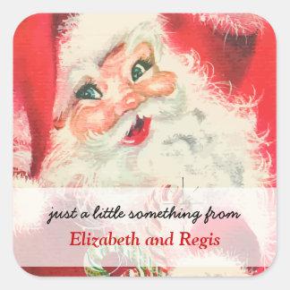 All became vintage santa claus hang tags