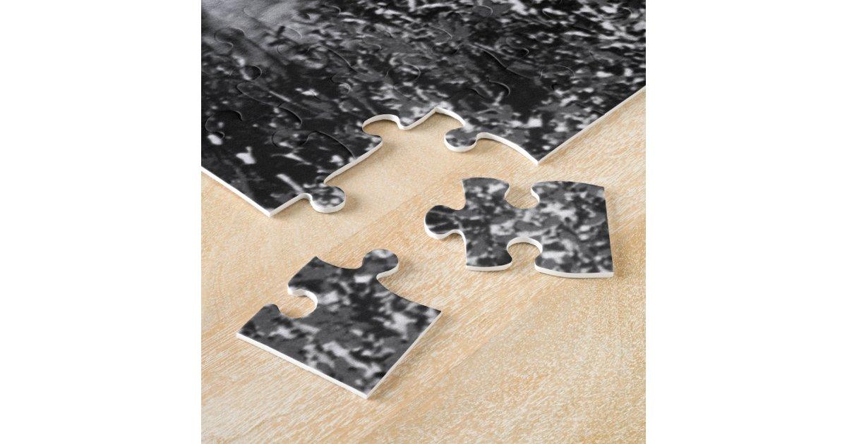 Vintage USA Alaska bull moose 1970 Jigsaw Puzzle | Zazzle