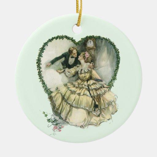 Victorian Christmas Decorations: Vintage Victorian Christmas Wedding Ornaments