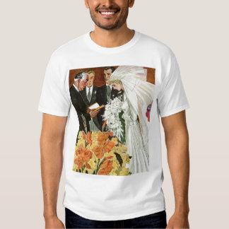 Marriage Bride Groom Shirt Clothing 61