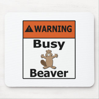 Warning Sign Mouse Pads Zazzle
