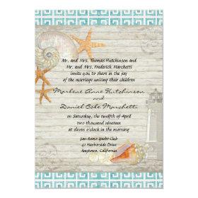 Lighthouse Wedding Invitations Custom Wedding Invitations Online