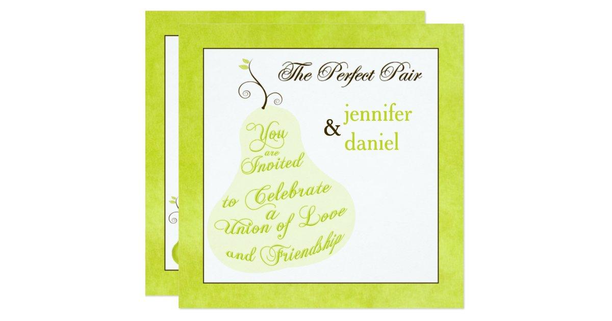 Perfect Wedding Invitations: Wedding Invitation
