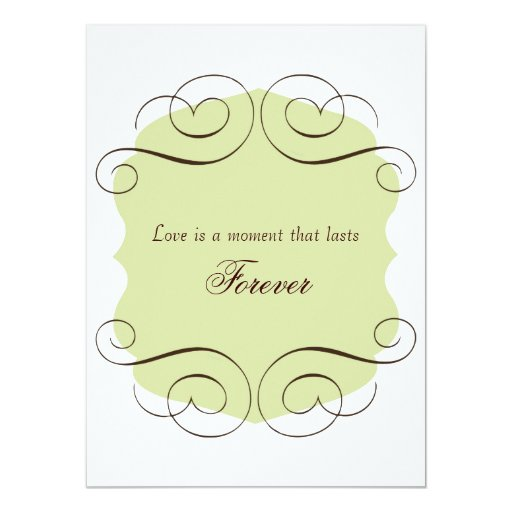 Quote For Wedding Invitation: Wedding Invitations With Love Quote