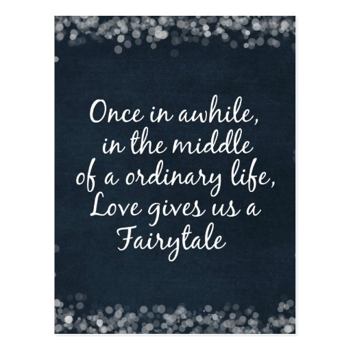 Love Quotes For Wedding Invitations: Wedding Invitations With Love Quote Postcard