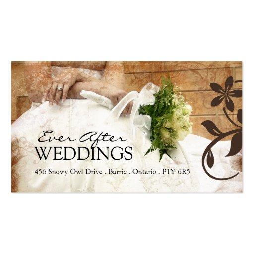 Elegant Wedding Planner Business Cards | Zazzle
