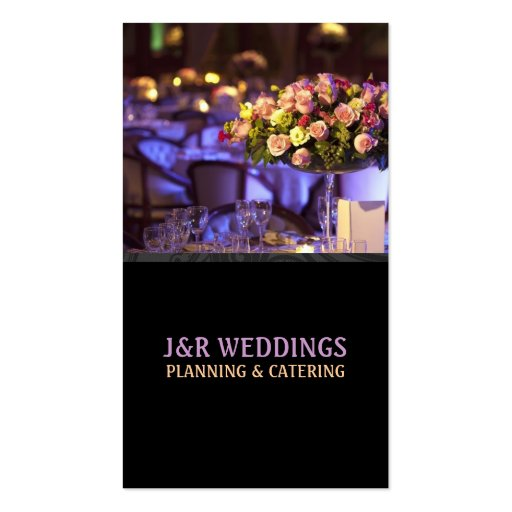 Wedding Planner Business Card | Zazzle