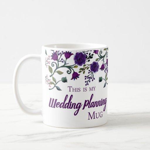 Wedding Gift Mugs: Wedding Planning Mug, Wedding Planner Gift Mug