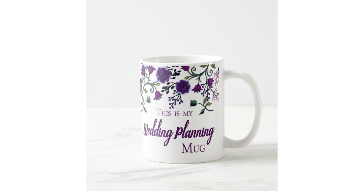 Gifts For Wedding Planning: Wedding Planning Mug, Wedding Planner Gift Mug