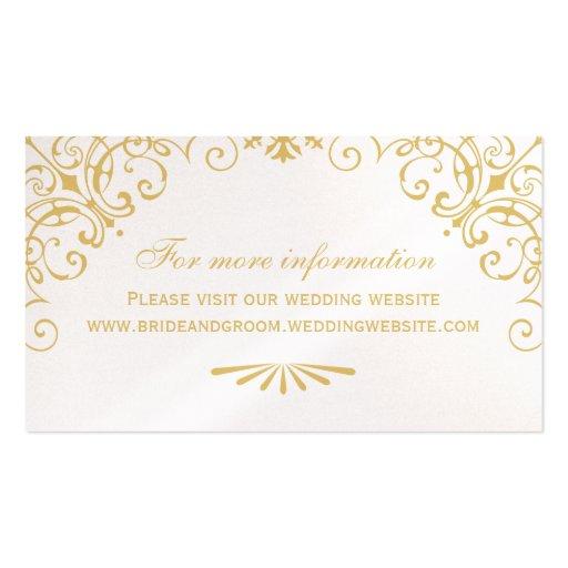 Wedding Website Card