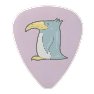 weird cartoon penguin polycarbonate guitar pick. Black Bedroom Furniture Sets. Home Design Ideas