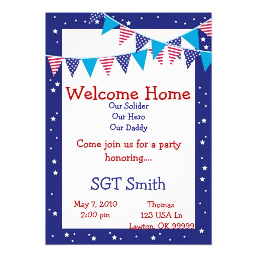 1 000 Welcome Party Invitations Welcome Party