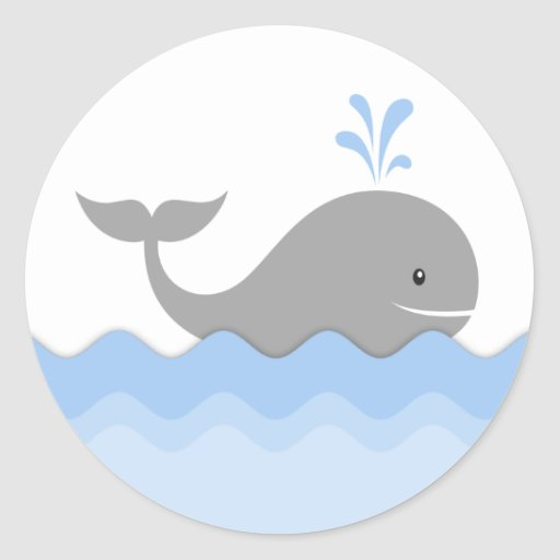 baby shower whale clipart - photo #33