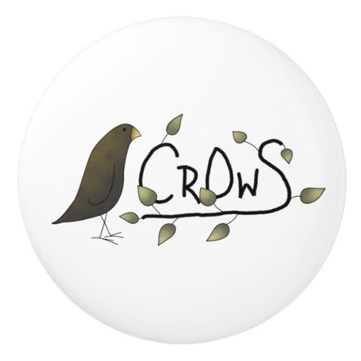 Bedroom Athletics Crowe Bedroom Cupboards Handles London Bedroom Accessories Pinterest Bedroom Decor Diy: Whimsical Primitive Crow Word Art Drawer Knobs Ceramic