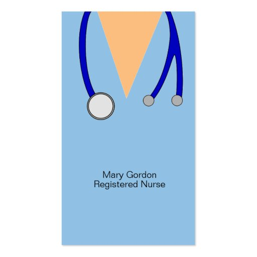 Registered Nurse Business Card