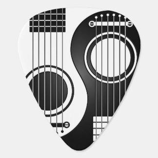 yin yang guitar picks zazzle. Black Bedroom Furniture Sets. Home Design Ideas