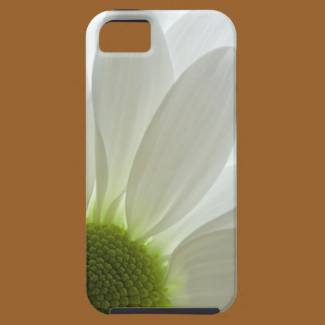 White Daisy Petals iPhone 5 Case-Mate