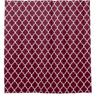 Burgundy Shower Curtains Zazzle