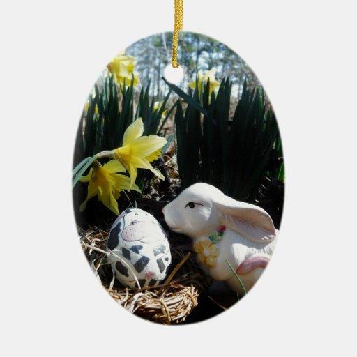 White Rabbit Ornaments & White Rabbit Ornament Designs ...