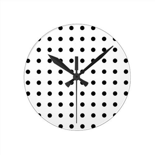 Polka Dot Clocks Great Home Decor Ideas