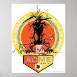 Wile E. Coyote Holding Umbrella Poster | Zazzle