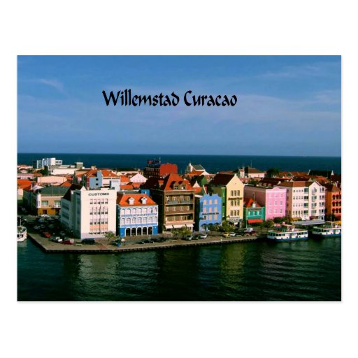 7 Apps To Use While Designing And Building Your New Home: Willemstad Curacao Postcard