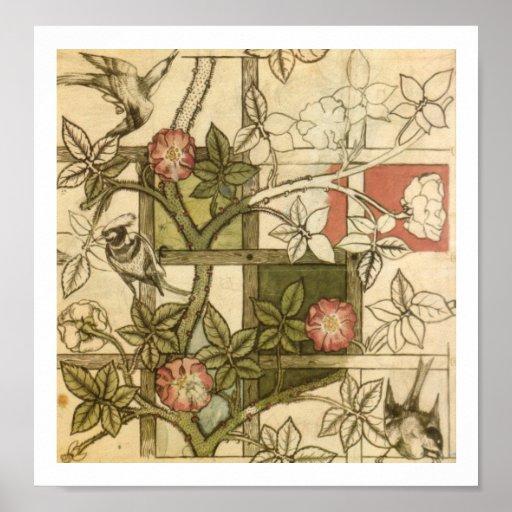 William Morris Trellis: William Morris - Trellis Poster