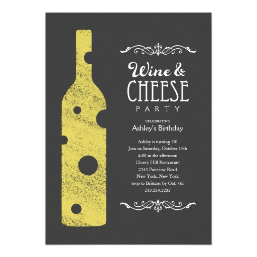 Wine And Cheese Party Gifts - T-Shirts, Art, Posters ...