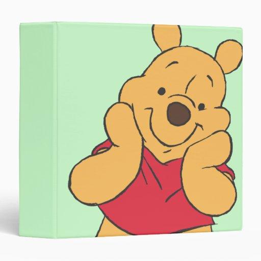 Winnie The Pooh 12 3 Ring Binders