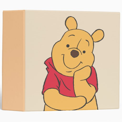 Winnie The Pooh 6 Binder