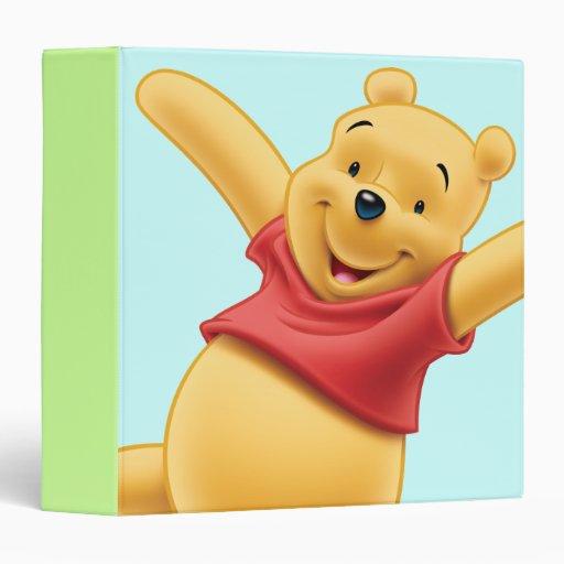 Winnie The Pooh 7 3 Ring Binders