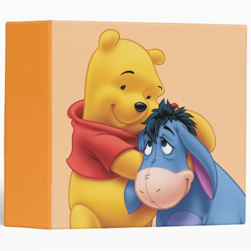 Winnie The Pooh And Eeyore Binder