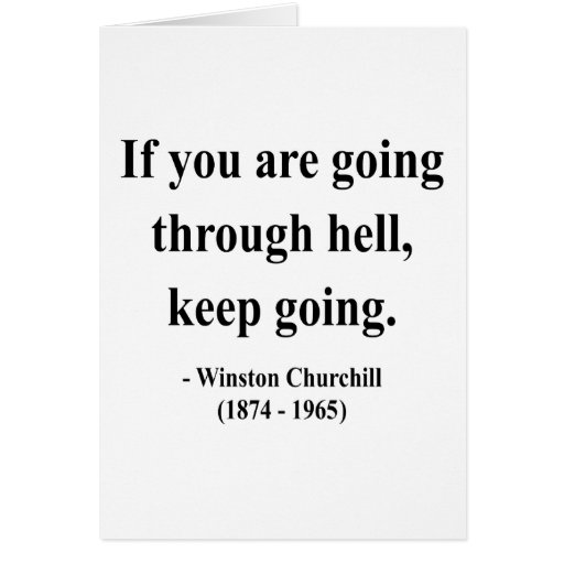 Winston Churchill Quotes Beginning Of The End: Winston Churchill Quote 4a Greeting Cards