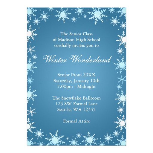 Winter Formal Invitations Grude Interpretomics Co