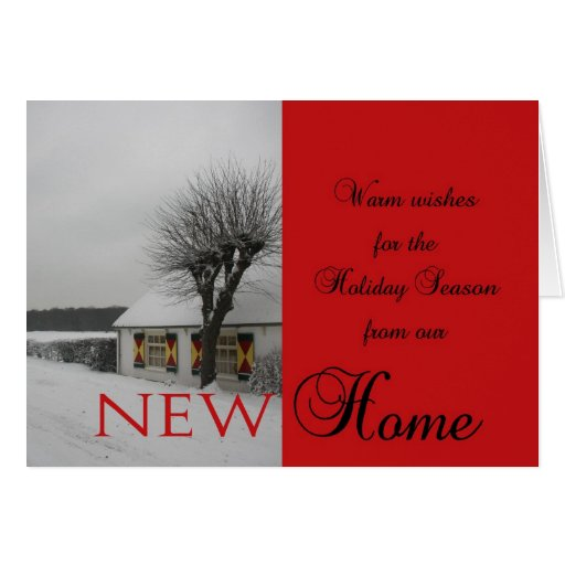 7 Apps To Use While Designing And Building Your New Home: Wishes For Holiday Season From New Home - Card