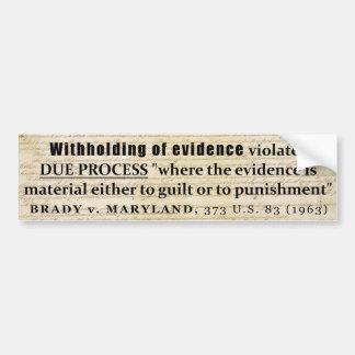 Brady Rule
