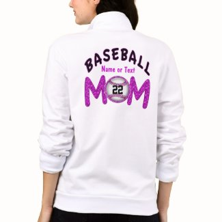 Women's Baseball Mom Apparel Personalized Jackets