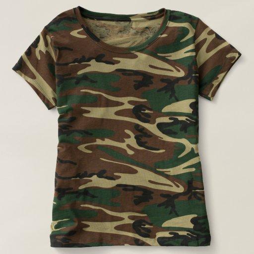Women S Camouflage T Shirt Zazzle
